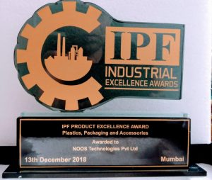 Industrial Product Excellence Award NOOS Technologies